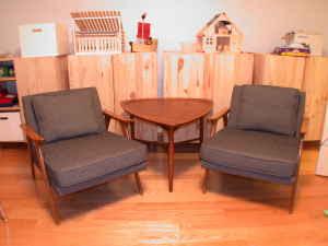 Mid Century    Danish Chairs   $700 (Cambridge) Http://boston.craigslist .org/gbs/fuo/1089020037.html