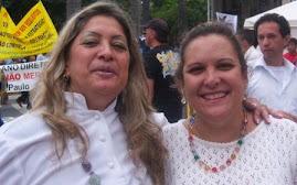 Com Mãe Norma de Iançã