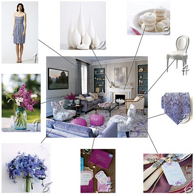 Inspirational Room via Gathering Spriggs 1 Vera Wang Bridesmaid Dress 2