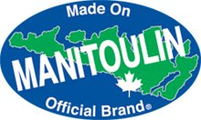 We are an official Manitoulin Branded Product!