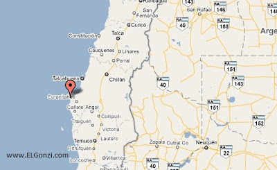temblor en chile