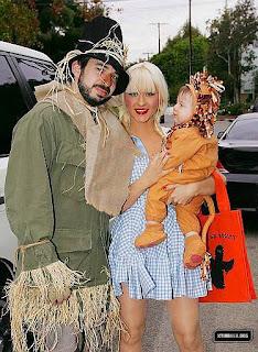 christina, jordan y max en halloween 2008