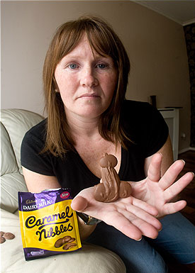 chocolate nibble cadbury
