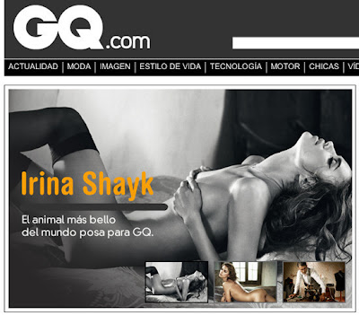 IRINA SHAIK GQ 2010