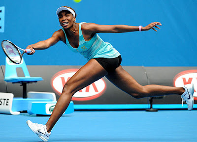 venus williams mini vestido