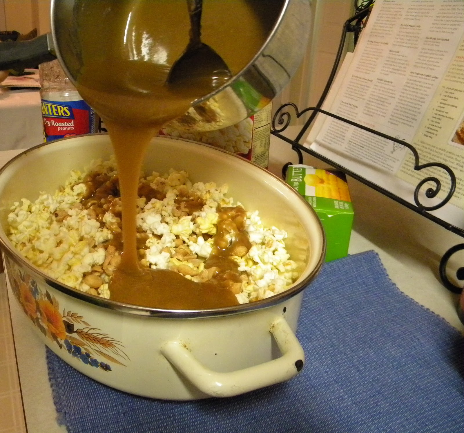 how to cook popcorn on the stove with butter