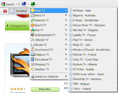 tv fox firefox addon