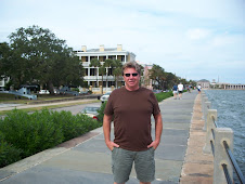 Mike @ the water in Charleston, SC