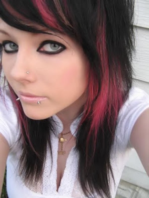 short emo hairstyles for women. Emo Hairstyles For Women.1