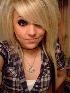 Blonde Emo Hair Styles Long Hair