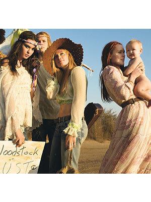 hippies makeup. Hot hippie ladies