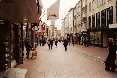 Calle céntrica. Nijmegen