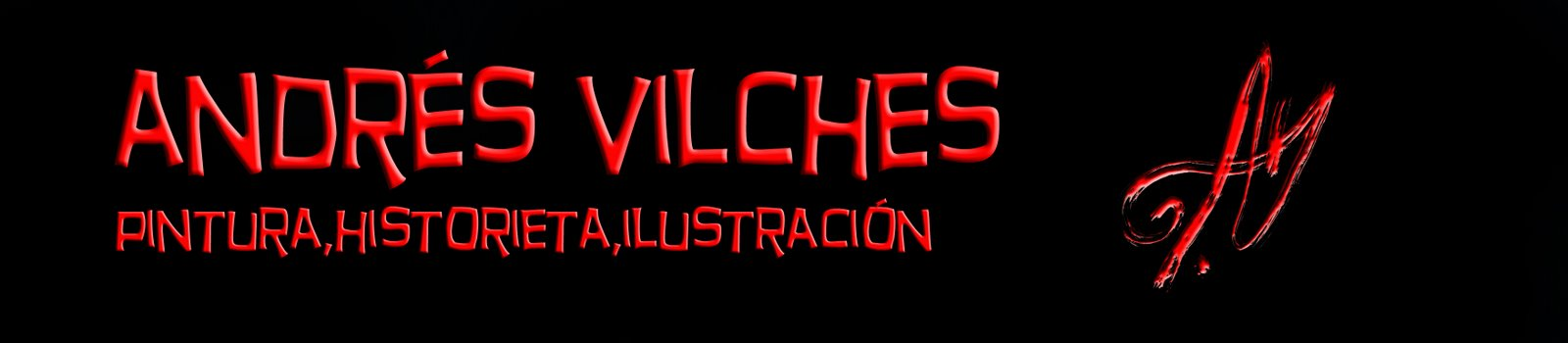 ANDRES VILCHES pintura ilustracion e historieta