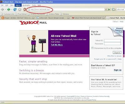 anton mail bukan Yahoo Mail