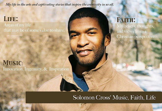 Solomon Cross' Music, Faith, Life