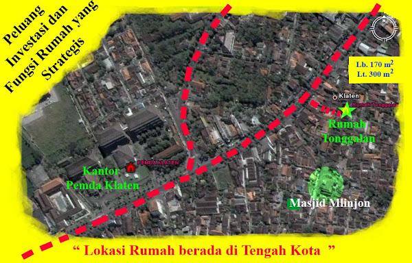 Tonggalan Peta lokasi