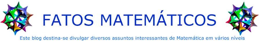 FATOS MATEMÁTICOS