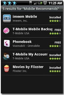 Apppack,Sherpa,Visual Voicemail,T mobile my touch 3G,mytouch 3g,my touch 3g