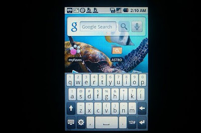 HTC Keyboard on my Touch 3G