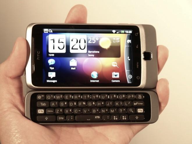 HTC Desire Z Manual