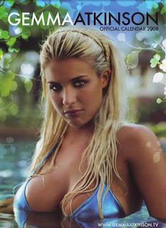 New Calendar January - June 2008 by Gemma Atkinson with Sexy Bikini pic