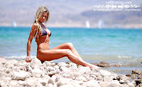 Anna in a Malibu Strings bikini in Lake Mead, Nevada`pictures gallery