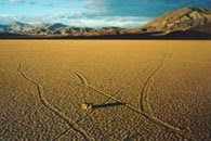 Death Valley Moving Rocks pictures gallery