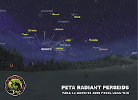 Perseids Meteor Shower Seen In North Indonesian images photos gallery