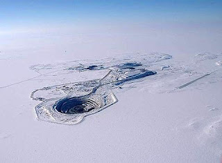 The Diavik diamond mine, Canada pictures gallery