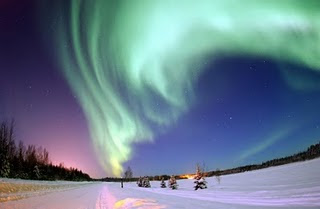 The New 7 (Seven) Natural Wonders of the World nothern light picture image photoshoot gallery