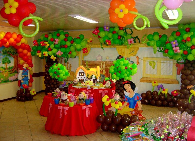 decoracao festa branca de neve:Festa Show – Decoração de Festas e Eventos