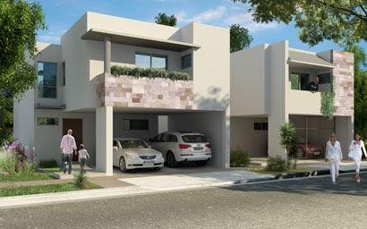Renders de casas en fraccionamiento valle de las alamedas for Render casa minimalista