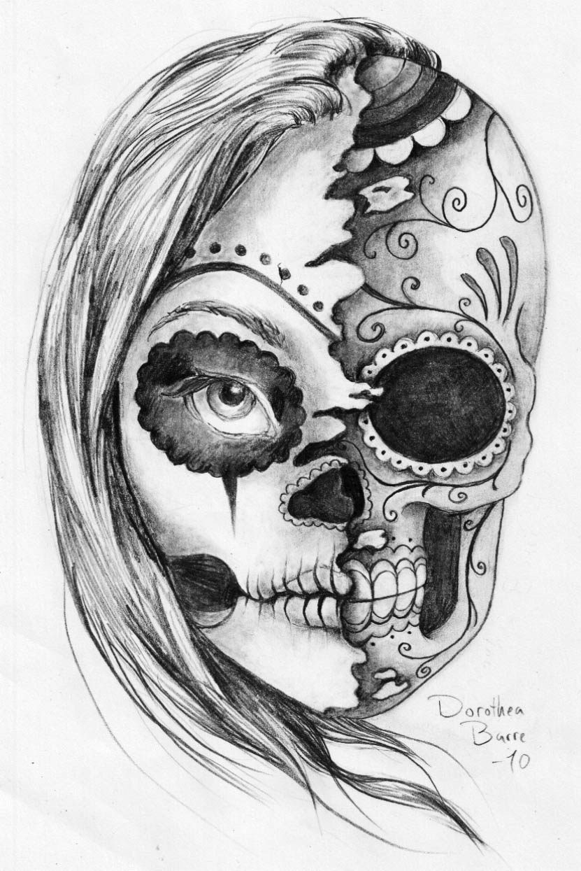 Dorothea Barre Blog: The sugar skull