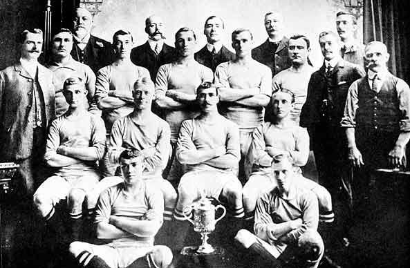 Il City vincitore in FA Cup 1904