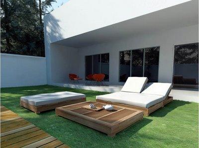 Hogar y jardin c mo hacer una cama con palets for Sofa cama para exterior