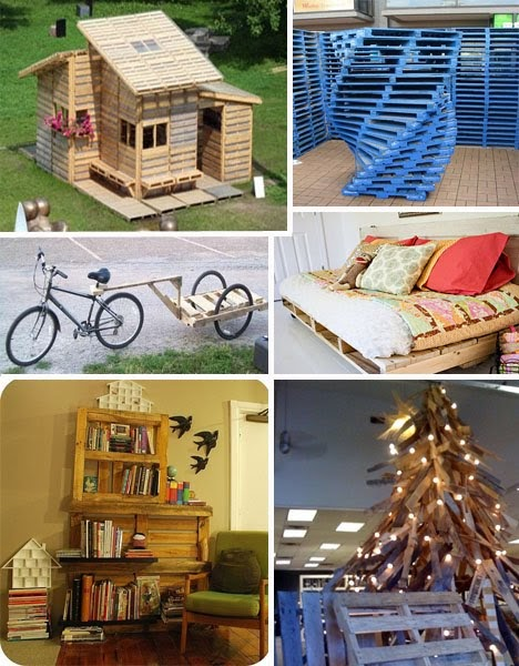Muebles gratis con palets reciclar palets - Reciclar palets para muebles ...