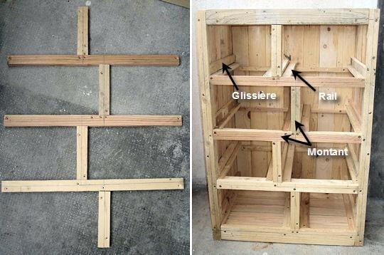 Como hacer un mueble para bano con palets - Como hacer muebles con palets ...