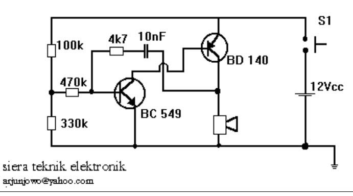 siera teknik elektronics  simpe sirine