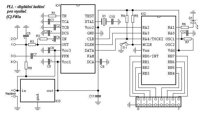 siera teknik elektronics  pll tuning mode