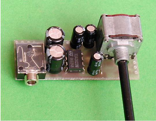 Miniature Audio Amp