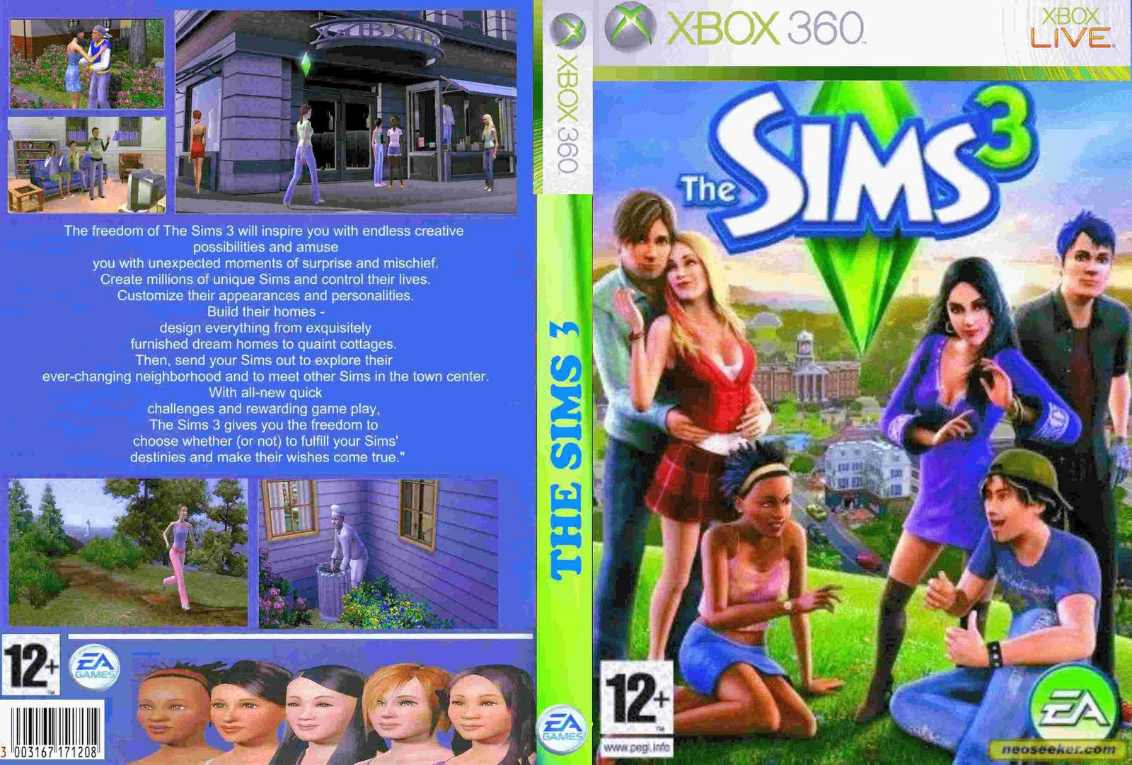 Luar games the sims 3 for Construire une maison sims 3 xbox 360