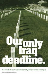 our only Iraq deadline