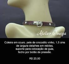 Acessórios - Coleira 26 - Atelier Omega