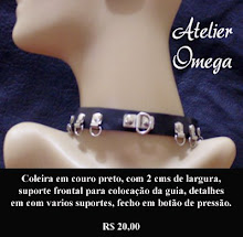Acessórios - Coleira 09 - Atelier Omega