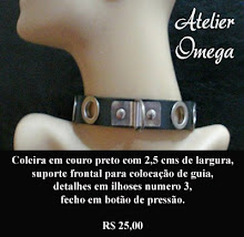 Acessórios - Coleira 11 - Atelier Omega