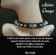 Acessórios - Coleira 10 - Atelier Omega