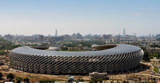 Solar stadium in taiwan