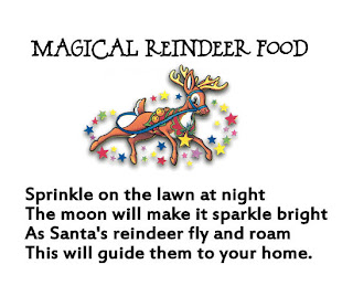 the magic reindeer food poem to make magic reindeer food easy to make ...