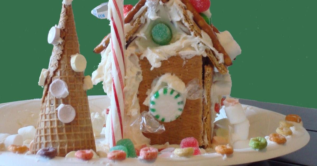 Homemaking Fun Graham Cracker Gingerbread Houses