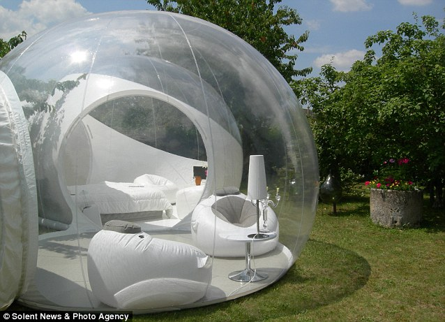 people living in a bubble